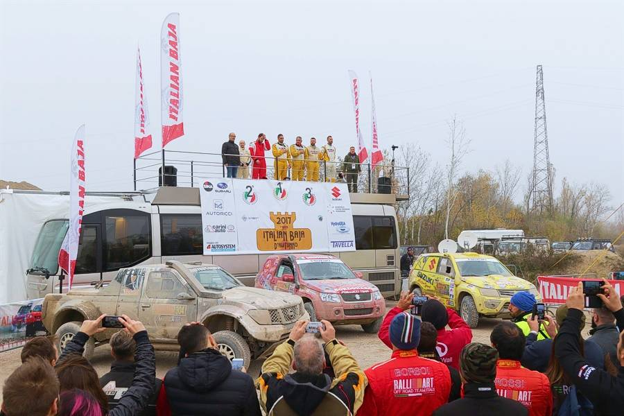 Italian Cross-Country Rally Championship 2018 presented at Baja D'Autunno.