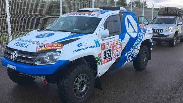 Dakar 2018: South Africa's only privateer at the hardest rally of the world