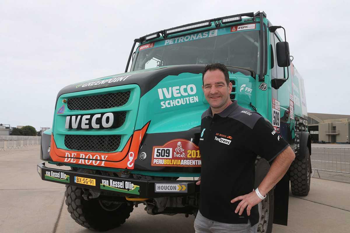 Etapa 7 Camiones- Ton Van Genugten,se adjudicó su primer triunfo