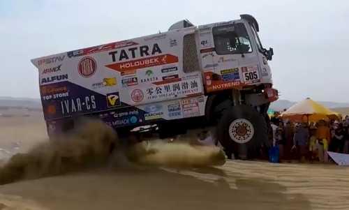 Dakar 2018: Tatra Buggyra Racing on stage 10